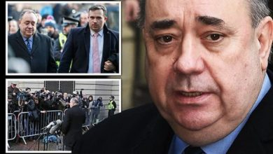 Alex Salmond charged with sexual assault and attempted rape